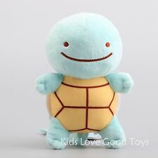 Pokemon Center Plush Transform Ditto Squirtle Doll Soft Stuffed Animal Toy 6''