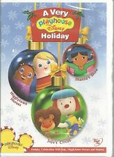 A Very Playhouse Disney Holiday Childrens DVD 2005 NEW