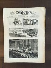 """""""THE GRAPHIC"""" (A Beautifully Illustrated British Weekly Newspaper)--Oct.15,1881"""