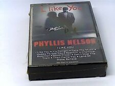 Phyllis Nelson I Like You Cassette FZT 40236 Carrere Recording Group SEALED