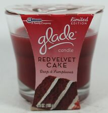 Glade Candle Limited Edition Red Velvet Cake 3.8oz