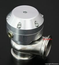 44mm Wastegate 4 PSI Turbo Stainless Steel V Band Mini Dump Valve Silver