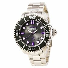 Invicta 19801 Gent's Grand Diver Steel Bracelet Dive Automatic Watch