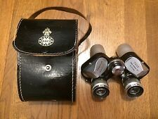 Tasco Model 504 7x25 Binoculars 57229 Weit Winkel 11 degree w Case