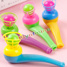 2pcs Tobacco Pipe Blowing Nostalgia Suspended Ball Educational Toys For Children