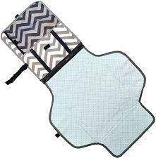 FinWings Diaper Changing Pad Mat Station Travel Kit Portable Compact Waterproof