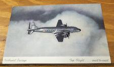 Older COLOR Postcard /// NORTHWEST AIRLINES, NORTHWEST PASSAGE SCENE