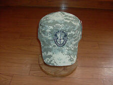 U.S MILITARY STYLE ARMY HAT SPECIAL FORCES ACU DIGITAL CAMOUFLAGE CAP FLAT TOP