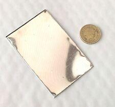 Pewter sheet metal stamping embossing.1mm Lead free Jewellery findings Big Shot