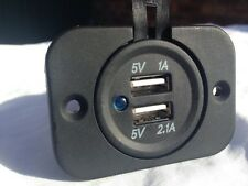 USB Motorcycle Charger Power Point  GPS Phone Weatherproof AUS Seller
