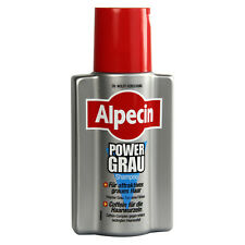 ALPECIN - Power Grau - Caffein shampoo - For Gray Hair - 200 ml