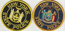 (2) DIFFERENT NEW YORK STATE POLICE HAT PATCHES NY PATCH