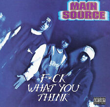 MAIN SOURCE-F WHAT YOU THINK(EX) CD NEW