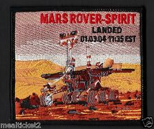 MARS Exploration ROVER SPIRIT Mission NASA JPL SPACE PATCH