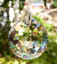SWAROVSKI CRYSTAL 30mm 8558 LOGO PRISIM Rainbow Maker READY TO HANG SUNCATCHER
