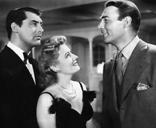 Irene Dunne, Randolph Scott & Cary Grant UNSIGNED photo -D531- My Favorite Wife