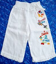 Oilily Girls Mädchen Lin Summer Pants gr.98/104 3/4 years new