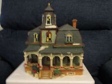 Holiday Time ~ Village Collectables ~ 3 Story Victorian House