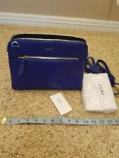 Dkny  New bag   blue Leather