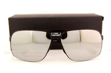 New Porsche Design Sunglasses P8579 8579 B Black/Silver Mirror Men Women