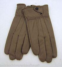 Damenlederhandschuh Winterhandschuh grau Gr. X L Neu