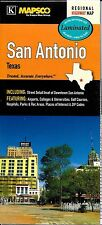 Folded & Laminated Map of San Antonio, Texas, by Mapsco