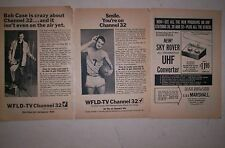 WFLD CHANNEL 32 CHICAGO 1966 Sign-On Ads  CHICAGO TV HISTORY!