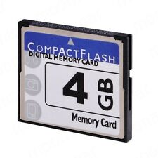 High Speed 4GB Storage Compact Flash CF Memory Card CF Card For DSLR HD Camera