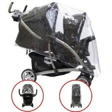 PVC RAINCOVER RAIN GRACO QUATRO TOUR TANDEM TWIN PUSHCHAIR