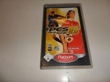 PlayStation Portable PSP pro evolution soccer 6 [Platinum]
