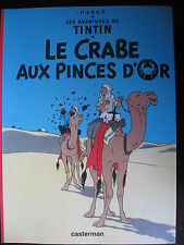 TINTIN LE CRABE AUX PINCES D'OR TOTAL 1999