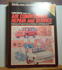 CHILTONS GUIDE AC REPAIR SERVICE 1989 1991 DOMESTIC IMPORT LT TRUCK CHEVY FORD