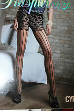 "TRANSPARENZE CYPRUS tights pantyhose size 2  Height 5'5""- 5'9"""