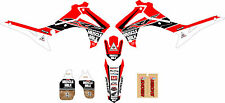 2013 - 2016  HONDA CRF 450 MUSCLE MILK Dirt Bike Graphics Kit Motocross Decals