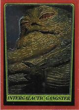 1999 Topps Star Wars Chrome Archives #62 Intergalactic Gangster   Jabba The Hutt