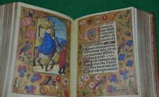 c. 1480 ILLUMINATED  BOOK OF HOURS, VATICAN LIBRARY FACSIMILE * ARMORIAL BINDING