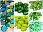 Round Glass Pebbles / Nuggets / Stones / Gems - Choose from all my Green stones