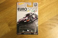 HOT WHEELS EURO Stile PORSCHE 993 GT2 AUTO cultura tutte in metallo real RIDERS importati