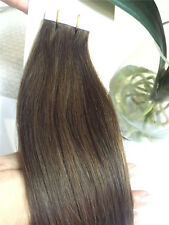 "7A 20pcs/set Skin Weft PU Tape in Remy 100% Human Hair Extensions 16""-26"""