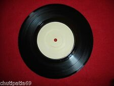 "U2 Three / Out of Control Irish White 7"" Test Pressing Promo CBS7951 In Dead Wax"