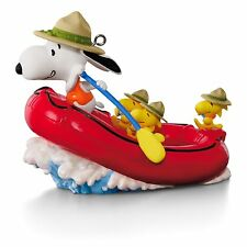 White Water Adventure - 2016 HALLMARK Ornament - Snoopy Rafting - PEANUTS GANG