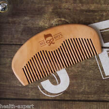 Mo Bro's - In legno Pettinatura Barba/Pettine Per Baffi - Movember