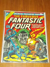 MARVEL TREASURY EDITION #11 VF (8.0) FABULOUS FANTASTIC FOUR 1976 US COPY