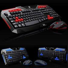 Gaming Wireless 2.4G Keyboard Mouse Set computer Multimedia Gamer Tastatur Maus