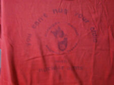"VINTAGE MICHIGAN ""NUCLEAR ARMS FREEZE"" PROTEST SHIRT-RARE!SCREEN STARS-PUNK!L@@K"