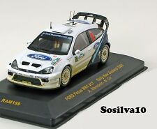 ixo models  1/43 ford focus wrc #17 rally new zealand 2005