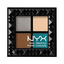 NYX COSMETICS FULL THROTTLE EYESHADOW 4 PAN PALETTE - FTSP06 STUNNER