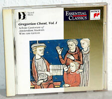 Gregorian Chant Vol.1 - Schola Cantorum Of Amsterdam Students-Wim van Gerven