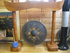 "GONG ( Percussion) HAND MADE BRONZE GONG  20"" NO FRAME"
