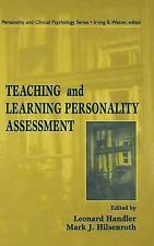Teaching and Learning Personality Assessment (Lea Series in Personalit-ExLibrary